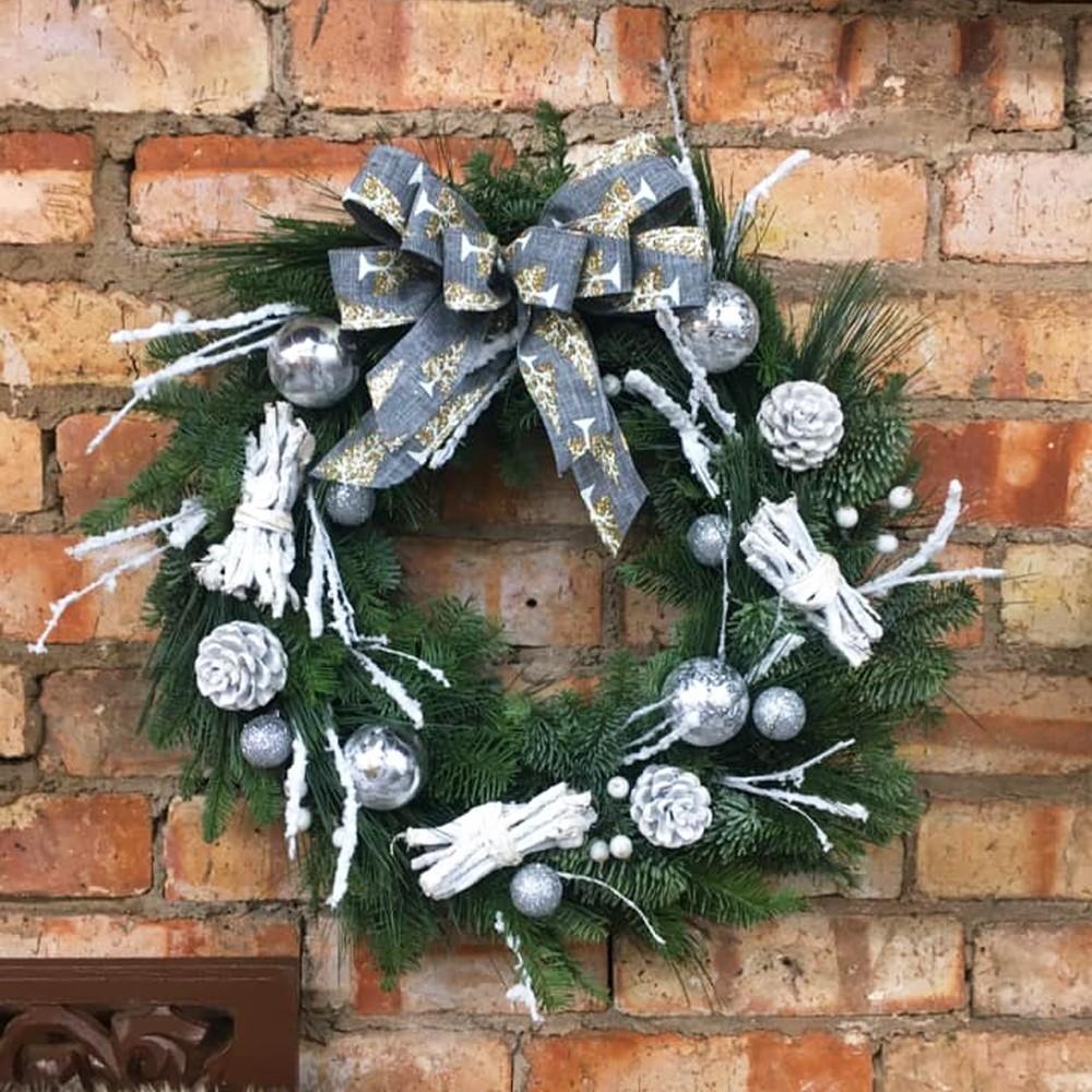 Sliver Wreath